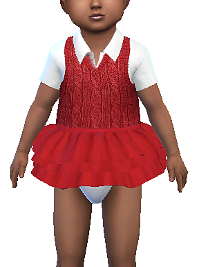 Red Tutu For Toddlers - Unisex.png